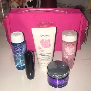 Lancôme Cosmetics and Bag